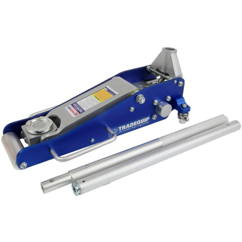 TradeQuip Low Profile Aluminium Trolley Jack, 1,600kg