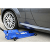 Image of TradeQuip Low Profile Heavy Duty Steel Trolley Jack, 3 Tonne - TradeQuip - Ramp Champ