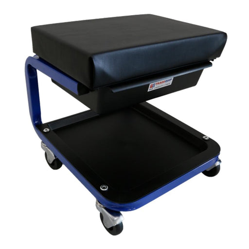 TradeQuip Mechanics Mobile Creeper Seat with Storage Drawer
