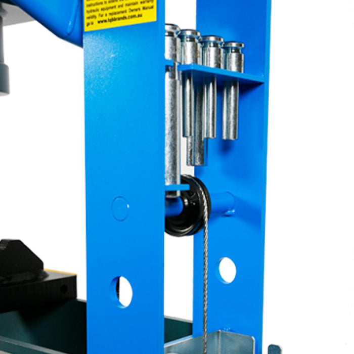 TradeQuip Pro Air/Hydraulic Workshop Press - TQPro - Ramp Champ