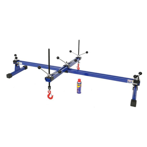TradeQuip Professional 500kg Engine Support Bar & Crossbar - Dual Hook