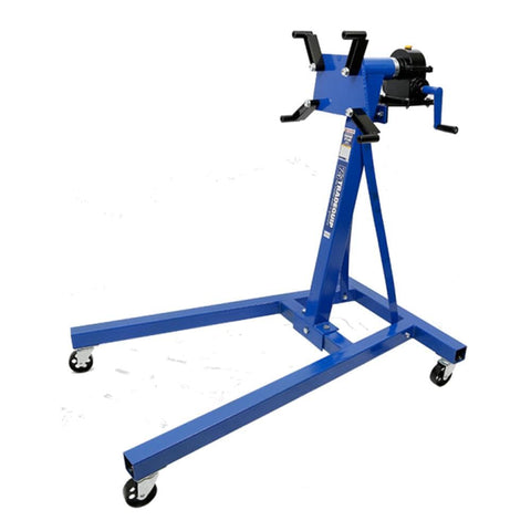 TradeQuip Professional Automotive Engine Stand with Gearbox, 500kg