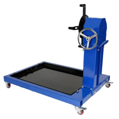 TradeQuip Professional Automotive Engine Stand with Pan, 800kg