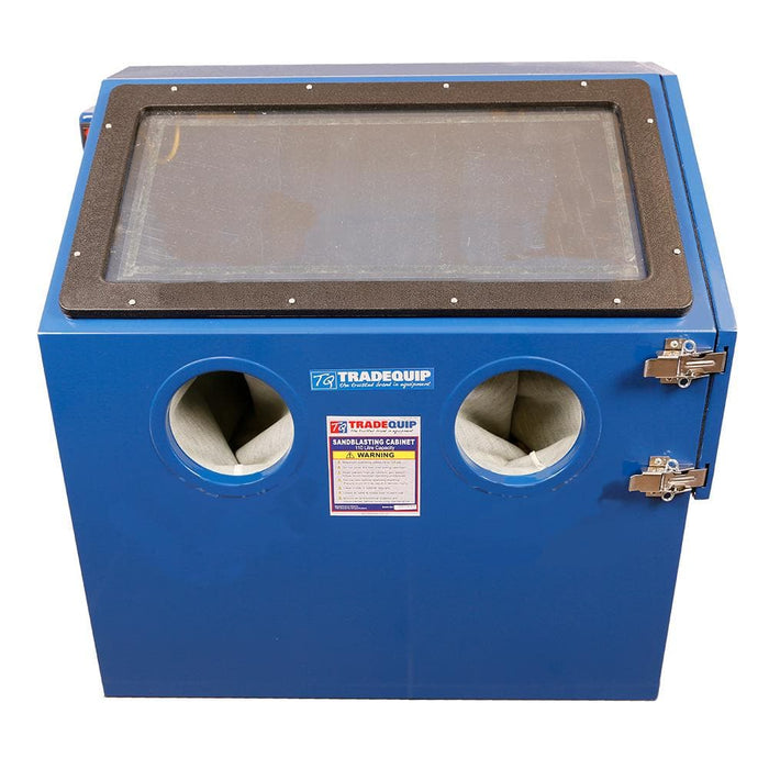 TradeQuip Professional Benchtop Blasting Cabinet, 115 Litre - TradeQuip - Ramp Champ