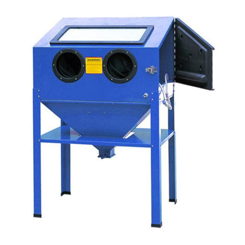 TradeQuip Professional Benchtop Blasting Cabinet, 220 Litre