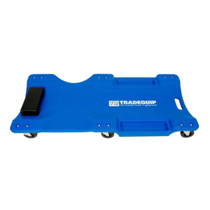 TradeQuip Professional Blue Mechanics Creeper with Head Rest - TradeQuip - Ramp Champ