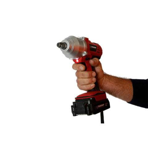 "TradeQuip Professional Cordless Impact Wrench 24V 1/2"" Drive"
