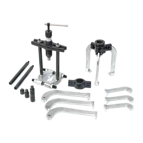 TradeQuip Professional Gear Puller Kit - Hydraulic 23pce