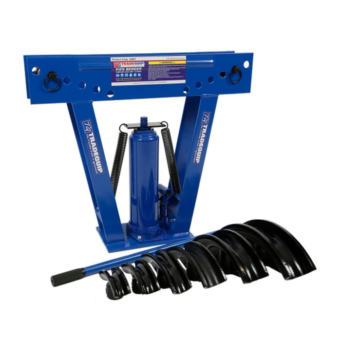 TradeQuip Professional Hydraulic Pipe Bender, 12 Tonne - TradeQuip - Ramp Champ