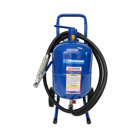 TradeQuip Professional Mobile Blasting Kit, 19 Litre
