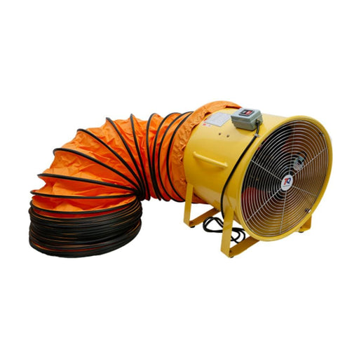 TradeQuip Professional Portable Ventilator Extraction Fan 450mm