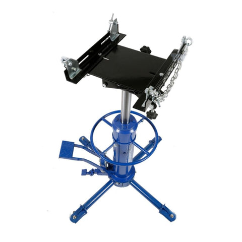 TradeQuip Professional Transmission Lifter Hydraulic, 500kg 2-Stage