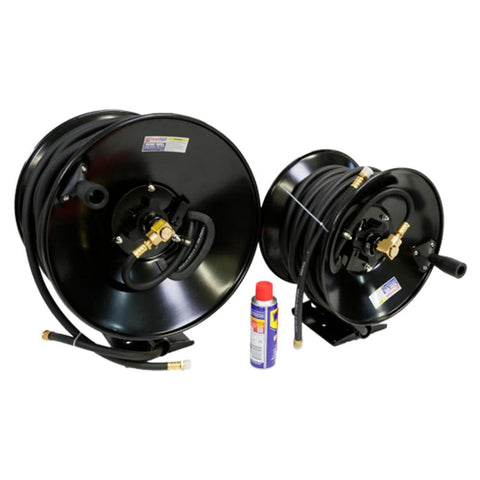 TradeQuip Professional Wall-Mountable Air Hose Reel 10mm x 25m