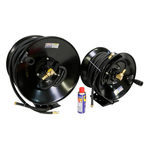 TradeQuip Professional Wall-Mountable Air Hose Reel 10mm x 55m