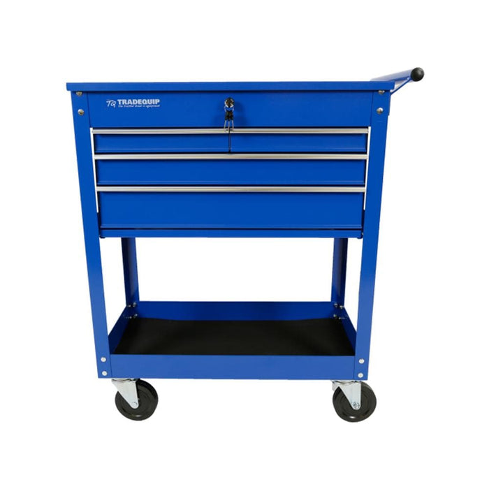 TradeQuip Professional Workshop Tool Trolley 4 Drawer Lockable Top - TradeQuip - Ramp Champ