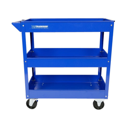 TradeQuip Professional Workshop Tool Trolley With 3 Trays