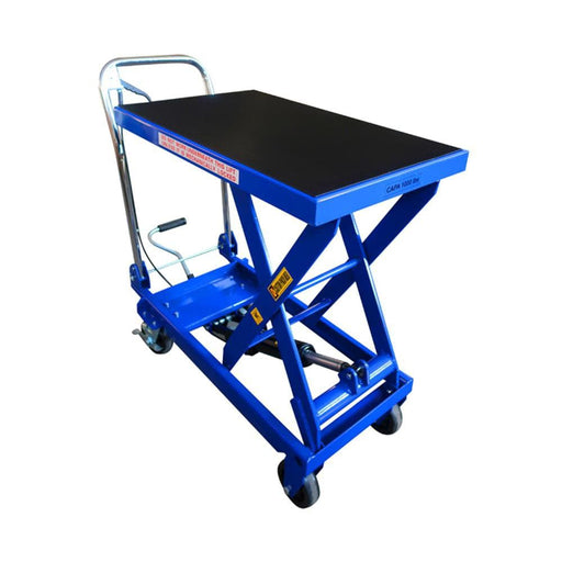 TradeQuip Scissor Lift Hydraulic Workshop Trolley, 450Kg - TradeQuip - Ramp Champ