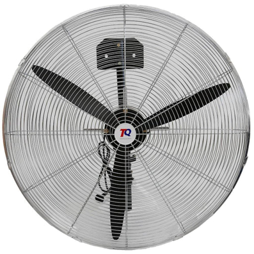 TradeQuip Steel-Cased Workshop Fan Wall Mount 750mm 3-Speed