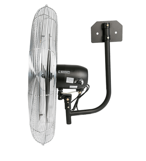 TradeQuip Steel-Cased Workshop Fan Wall Mount 750mm 3-Speed - Tradequip - Ramp Champ
