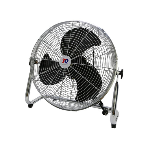 TradeQuip Steel-Cased Workshop Floor Fan 450mm 3-Speed