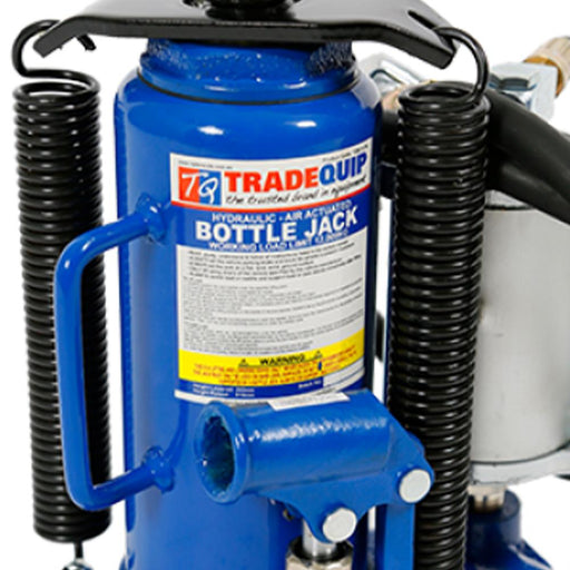 Trade Quip Heavy-Duty Air/Hydraulic Bottle Jack, 12-Tonne - TradeQuip - Ramp Champ