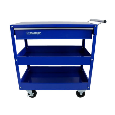 Tradequip Workshop Tool Trolley 1 Drawer 2 Tray