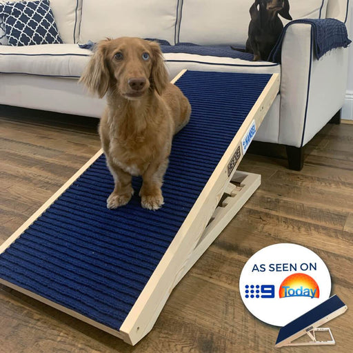 Heeve 'Up-Ya-Get' Wooden Dog Ramp For Beds - Heeve - Ramp Champ