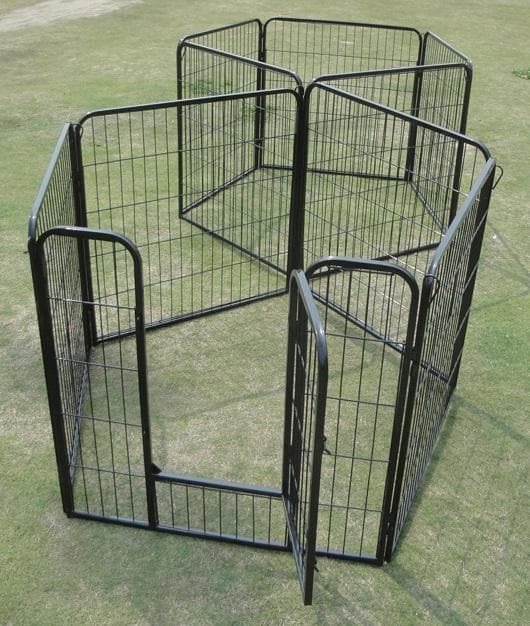 10 x 800 Tall Panel Pet Exercise Pen Enclosure - Ramp Champ - Ramp Champ