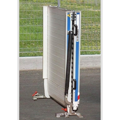 WM System Aluminium AL-Light Van Ramp with Swivel, 400kg Capacity