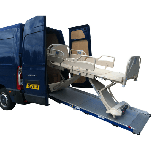 WM System Aluminium AL-Light-Plus Van Ramp with Swivel, 400kg Capacity - WM System - Ramp Champ