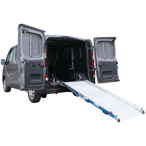 WM System Aluminium AL-Light Van Ramp with Swivel, 400kg Capacity - WM System - Ramp Champ