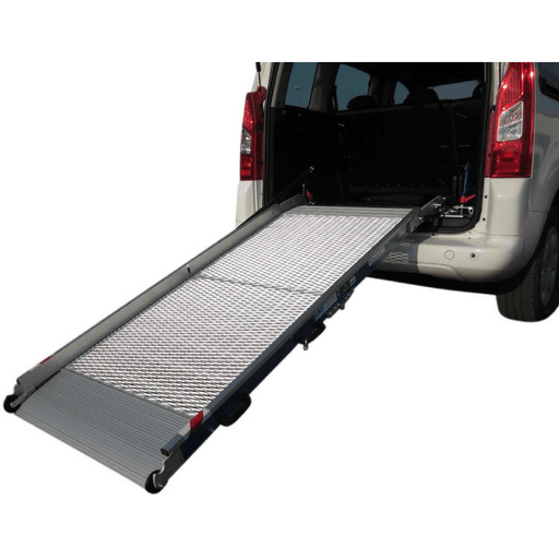 WM System Aluminium Mesh Van Ramp with Swivel, 300kg Capacity - WM System - Ramp Champ