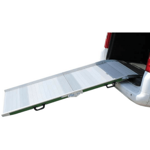 WM System Aluminium Mobile Van Ramp, 300kg Capacity - WM System - Ramp Champ