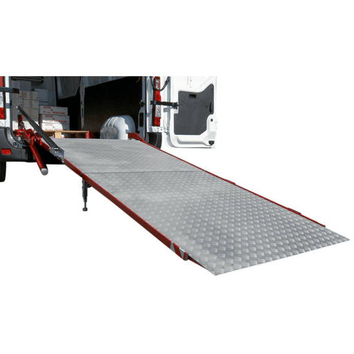 WM System Aluminium PC-Heavy Duty Van Ramp & Swivel 1000kg to 1800kg - WM System - Ramp Champ