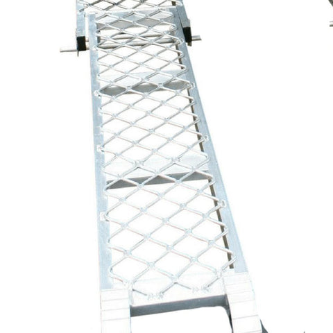 Whipps 2.5m 100kg Aluminium Folding Side-Walk Ramp