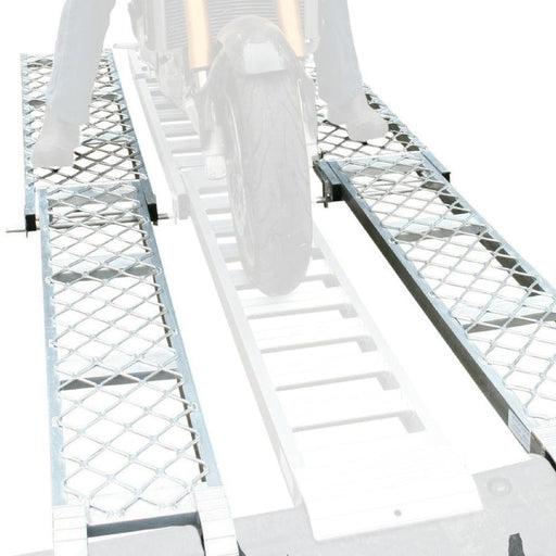Whipps 100kg 3m Aluminium Folding Side-Walk Ramp - Whipps - Ramp Champ