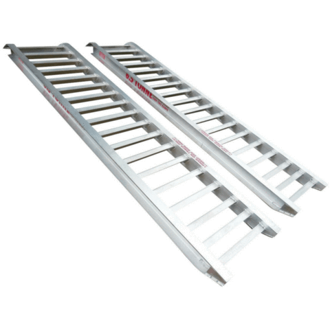 Whipps Construction & Machinery Whipps 4.5 Tonne 2.5 m x 500mm  Aluminium Loading Ramps