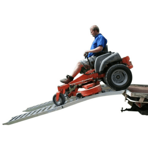 Whipps Folding Aluminium Curved Mower Ramps - Whipps - Ramp Champ