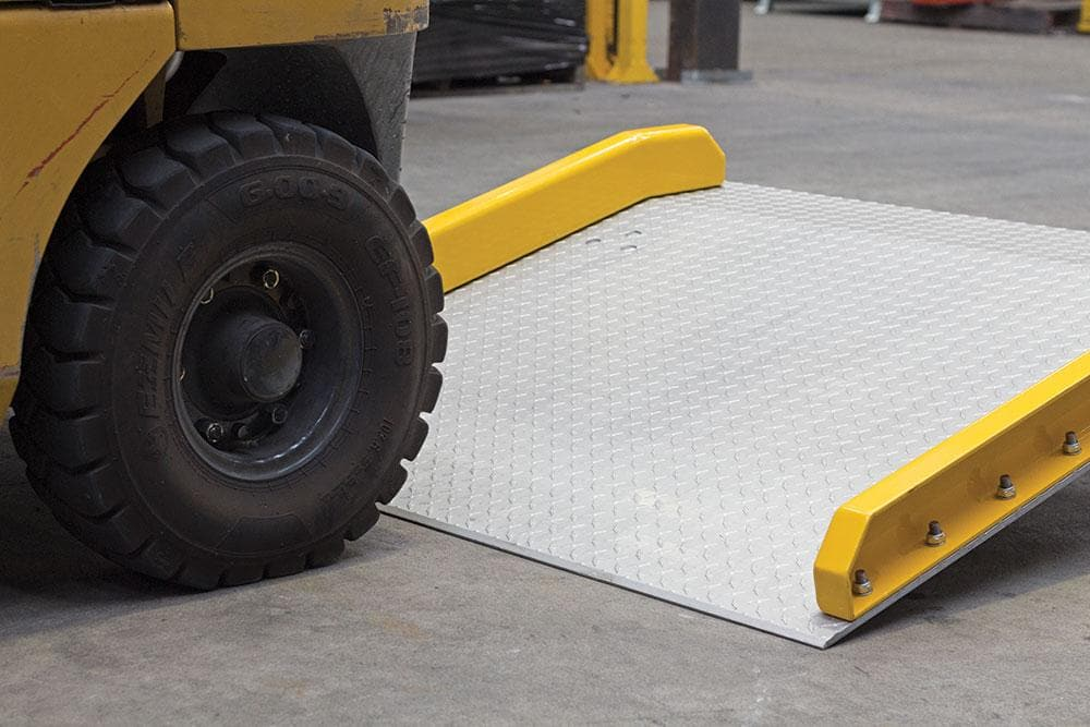 Barrier Group Heavy-Duty Aluminium Dock Board Ramp 1525mm x 1525mm - Barrier Group - Ramp Champ
