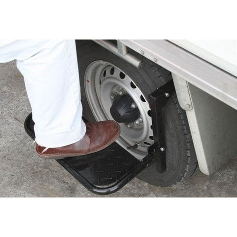 Barrier Group Black Folding Tyre Step For Tyres - Barrier Group - Ramp Champ