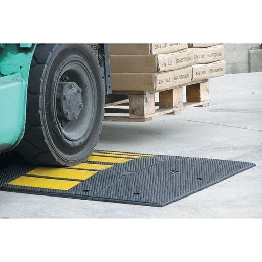 Barrier Group Heavy Duty Rubber Traffic Calming Hump - Barrier Group - Ramp Champ