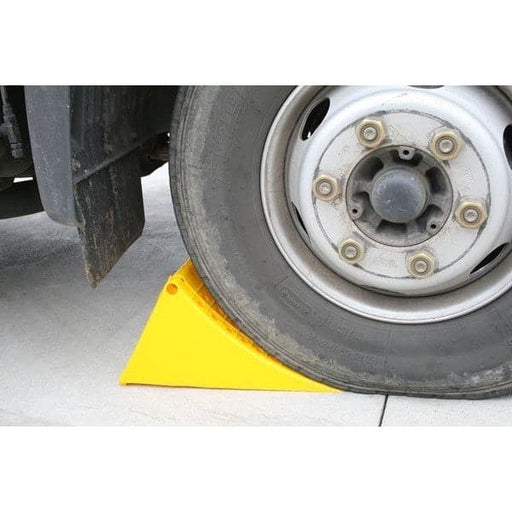 Barrier Group Plastic Truck Wheel Chocks - Barrier Group - Ramp Champ