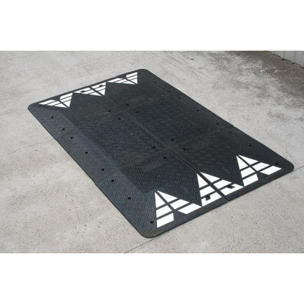 Barrier Group Durable Recycled Rubber Vehicle Speed Cushion - Barrier Group - Ramp Champ