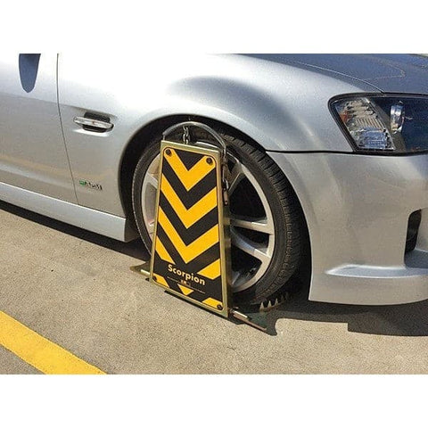 Barrier Group Scorpion Wheel Clamp - Barrier Group - Ramp Champ