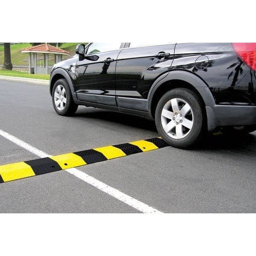 Barrier Group Slo-Motion Standard Duty Steel Speed Hump - Barrier Group - Ramp Champ