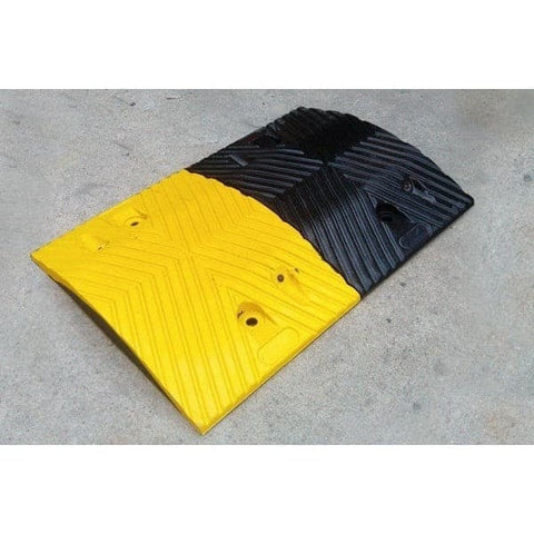 Barrier Group Traffic Calming Round Rubber Hump - Barrier Group - Ramp Champ