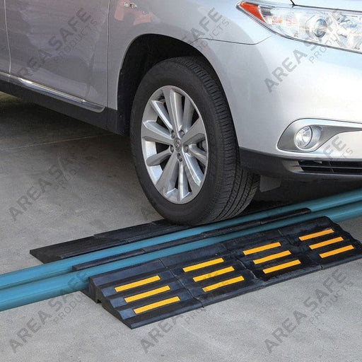 Rubber Hose Cable Ramp, 20-Tonne Capacity - Area Safe - Ramp Champ
