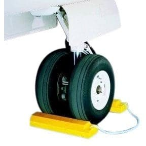Checkers Aviation Wheel Chock 533mm Length - Checkers - Ramp Champ