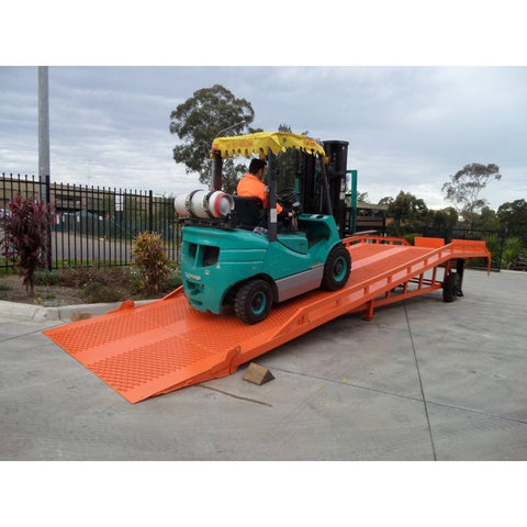 Niuli 10-Tonne Full-Size Steel Forklift Dock Ramp / Yard Ramp - Niuli - Ramp Champ