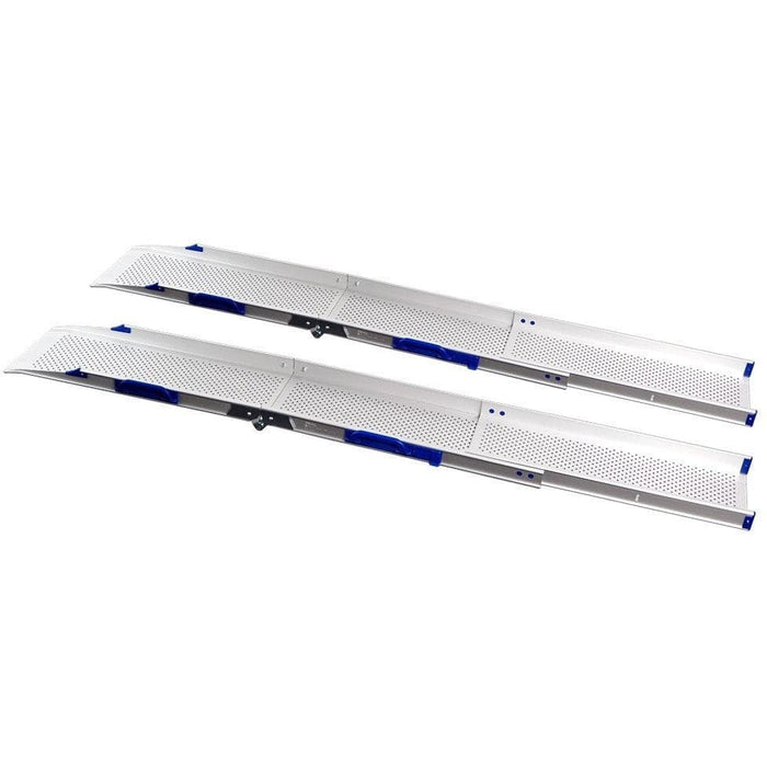 FEAL 2.05m Portable Folding Telescopic Extra Wide Loading Ramps - Feal - Ramp Champ